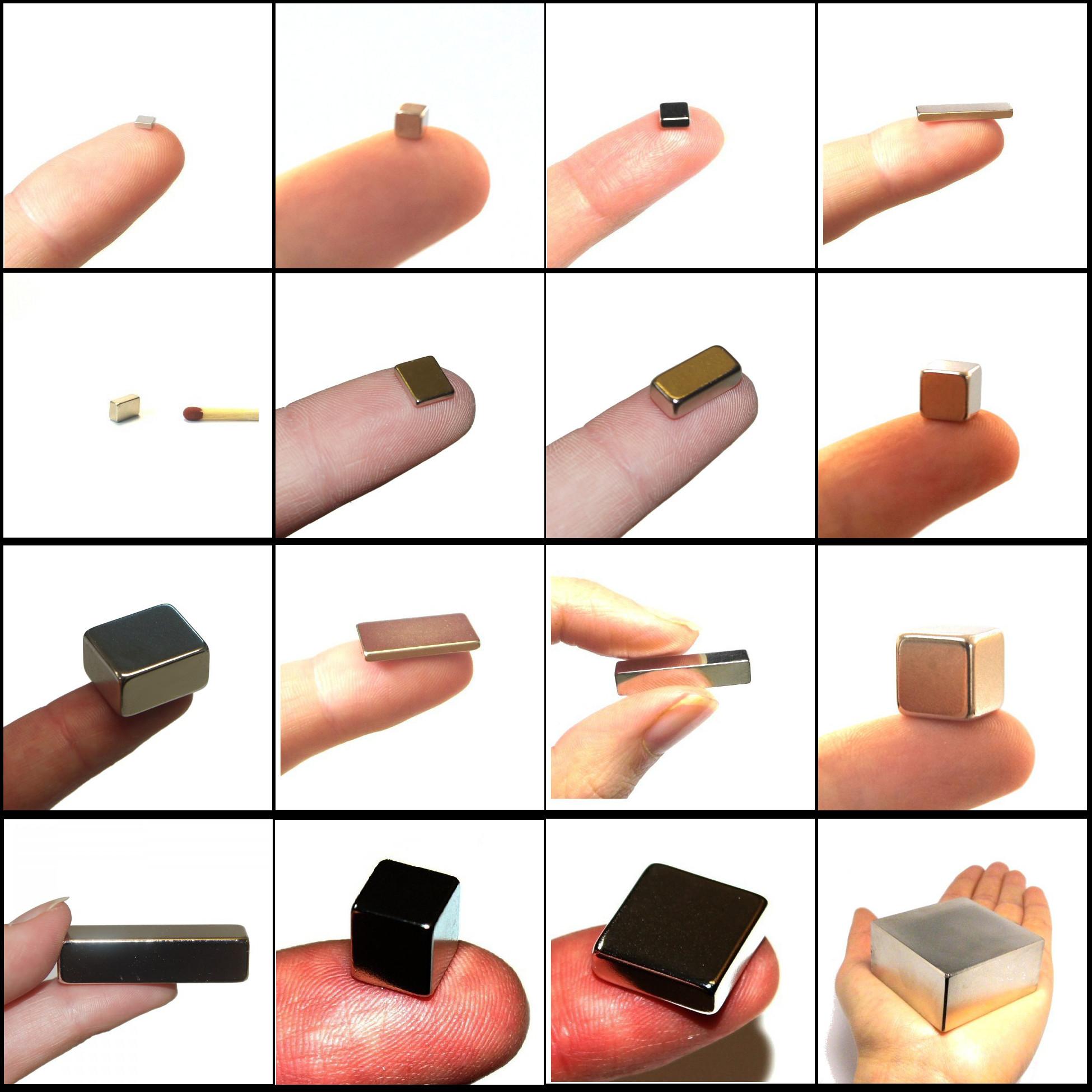 Block magnets neodymium
