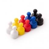 Neodymium magnetic figures 5 colors